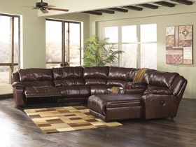 978 U-Shaped Sectional with Glider Recliner : u shaped reclining sectional - islam-shia.org