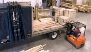We Use Only The Finest Hardwoods Stocked In Our Frame